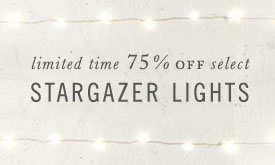 75% Off Stargazer Lights | limited time