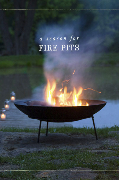 A Season For Fire Pits