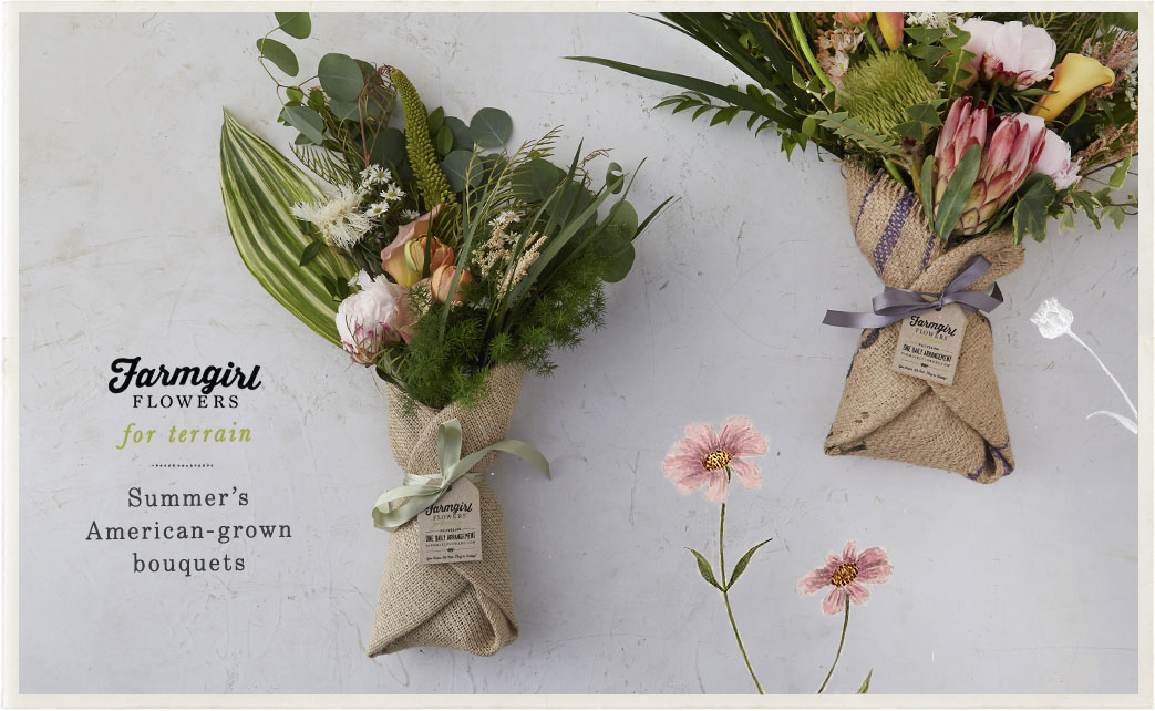 Farmgirl Flowers for Terrain | Summer's American-Grown Bouquets