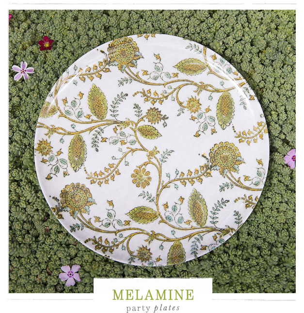 Melamine Party Plates