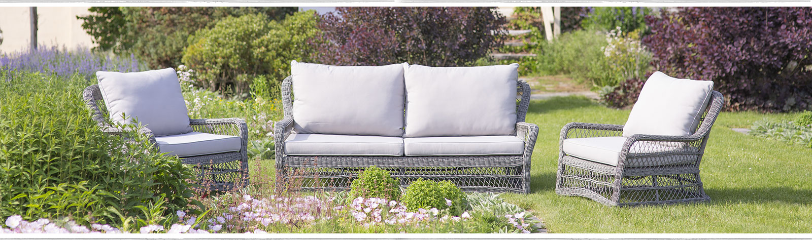 A seat in the garden | Shop all weather wicker