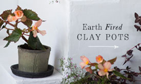 Earth Fired Clay Pots