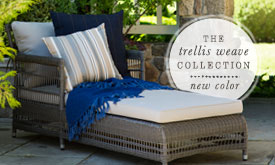 New Color | The Trellis Weave Collection