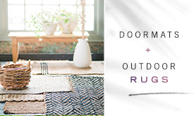 Doormats + Outdoor Rugs