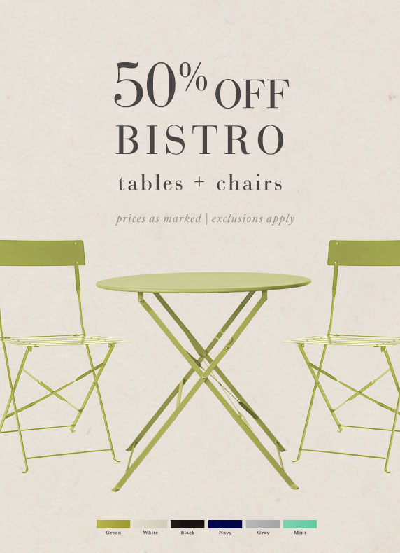 The Painted Bistro Collection