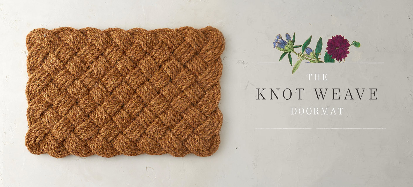 The Knot Weave Doormat