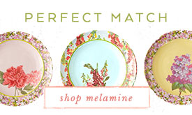 A perfect match | shop melamine