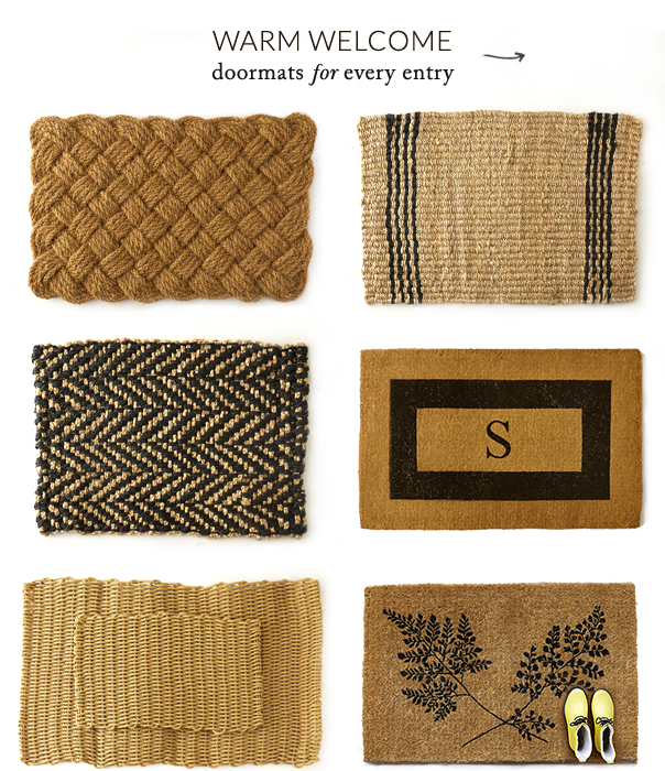 Warm Welcome | Doormats for every entry