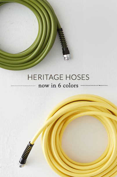 The Heritage Garden Hose | now in 6 colors