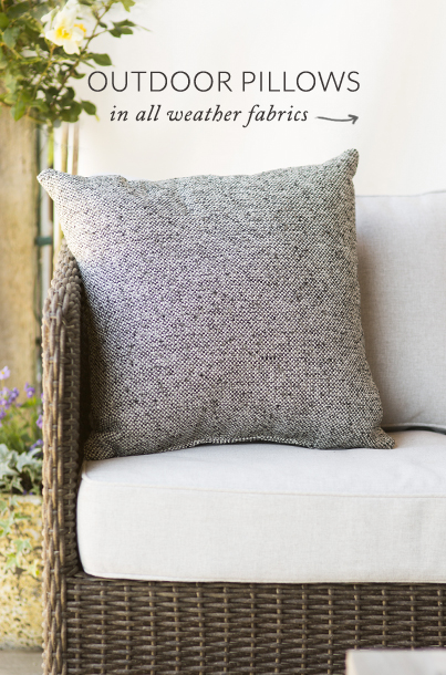 Outdoor Pillows | in all weather prints