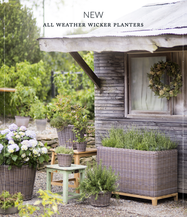 NEW | all weather wicker planters