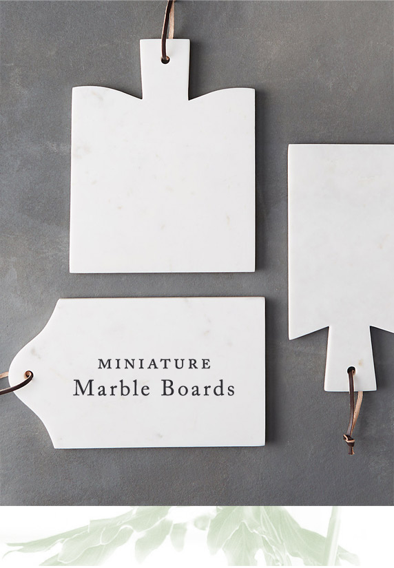 Miniature Marble Boards