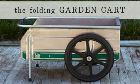 The Essential Folding Garden Cart