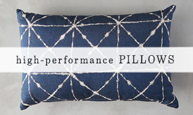 High Performance Outdoor Pillows