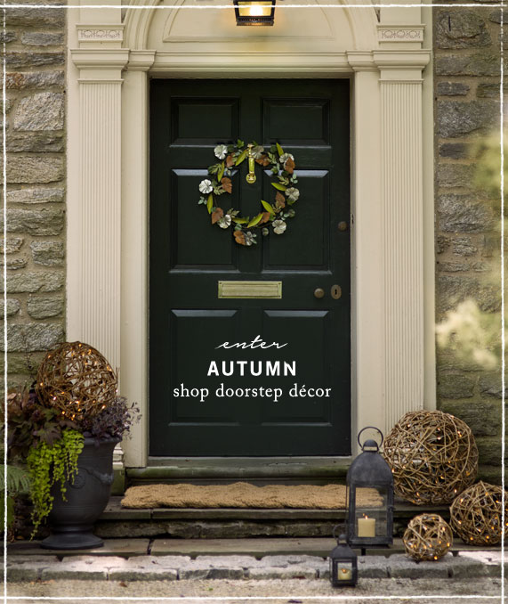 Enter Autumn | Shop doorstep décor
