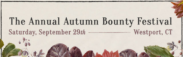 The Annual Autumn Bounty Festival | Saturday, September 29th