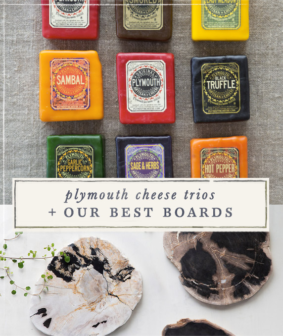 Plymouth Cheese Trios + Our Best Boards