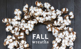 Just In: Fall Wreaths
