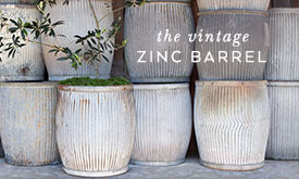 The Vintage Zinc Barrel