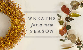 Wreaths for a new season