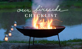 Our Fireside Checklist