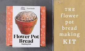 The Flower Pot Bread Making Kit