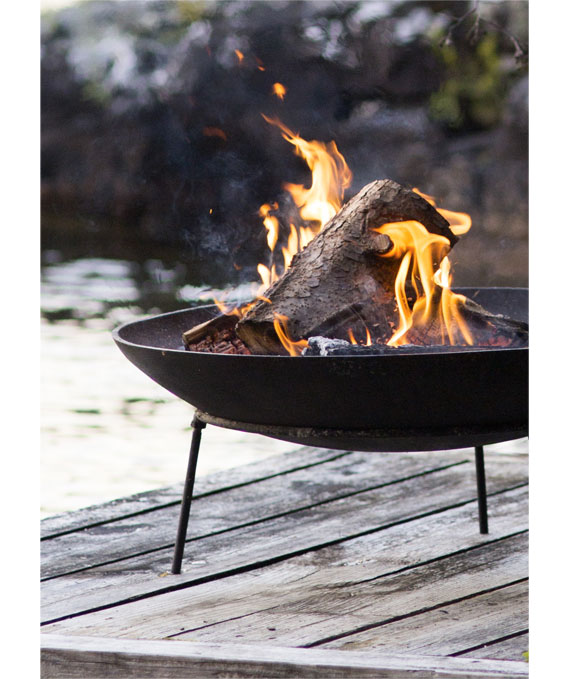 Fire Pits | Choose from Cast Iron, Raw Steel, Solid Copper + Stone