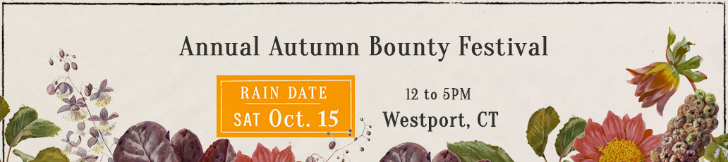 Autumn Bounty Festival- Rain Date Oct 15