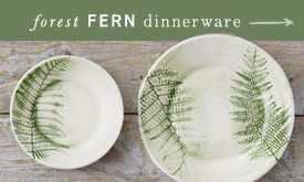 Forest Fern Dinnerware
