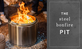 The Steel Bonfire Pit