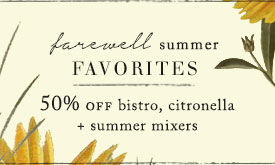 50% off summer favorites
