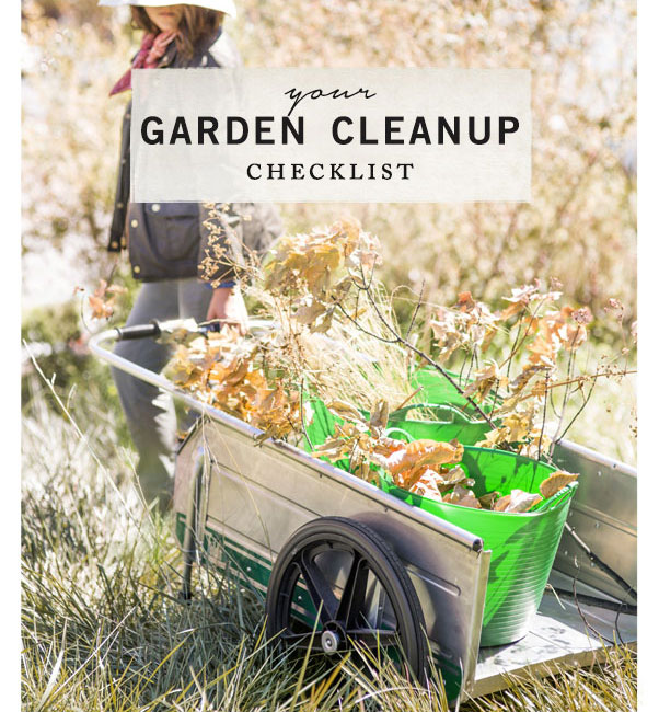 Your Garden Cleanup Checklist