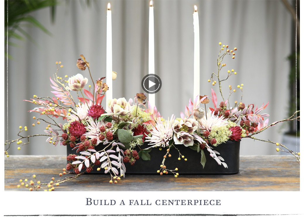 Build a Fall Centerpiece