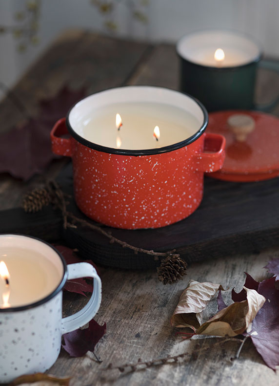 winter spiced | Hot Cider Candles