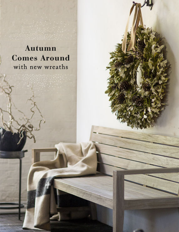 Autumn Comes Around | with new wreaths