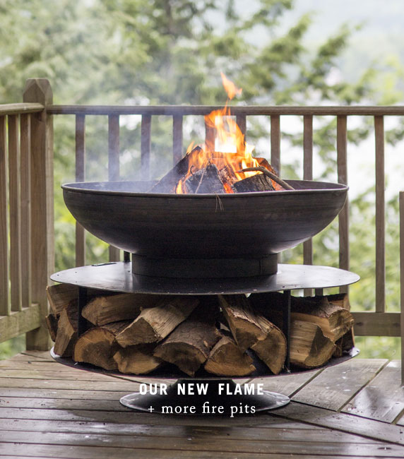 Our New Flame | + more fire pits