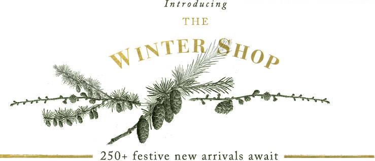 Introducing THE WINTER SHOP | 250+ festive new arrivals await