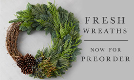 Fresh Wreaths Now for Preorder!