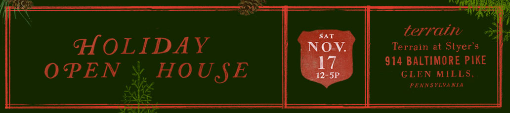 Holiday Open House | Saturday, November 17th