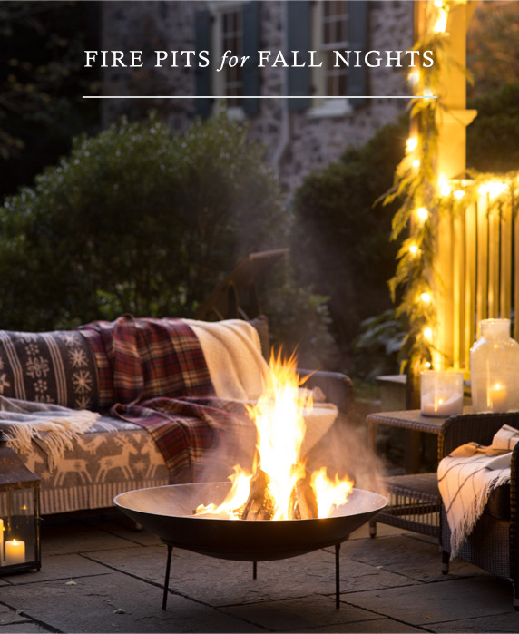 Fire Pits for Fall Nights