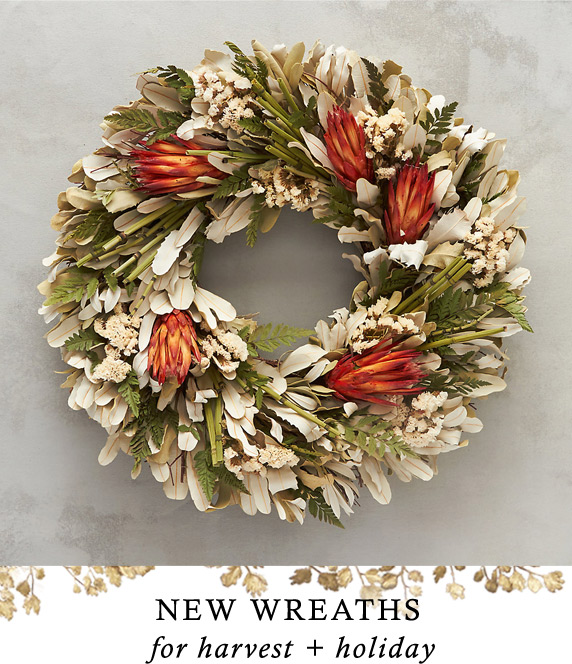 New Wreaths | for harvest + holiday