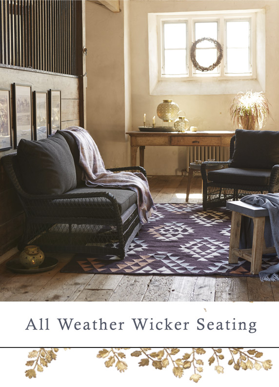 Curved All Weather Wicker Seating