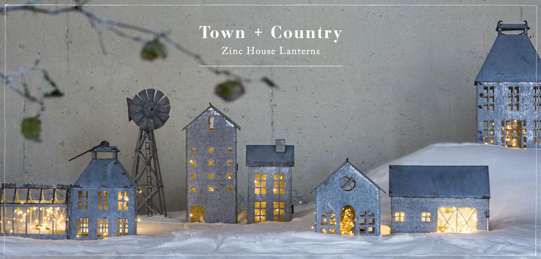 Town + Country | Zinc House Lanterns