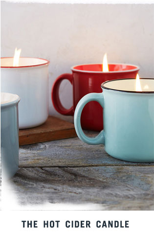 The Hot Cider Candle