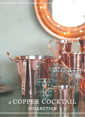 A Copper Cocktail Collection