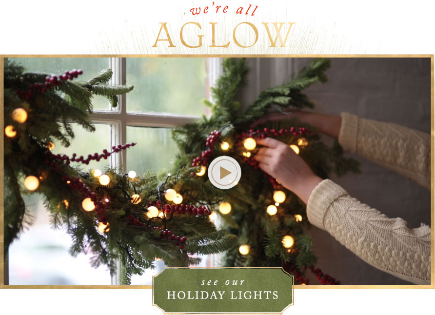 We're all aglow | see our holiday lights