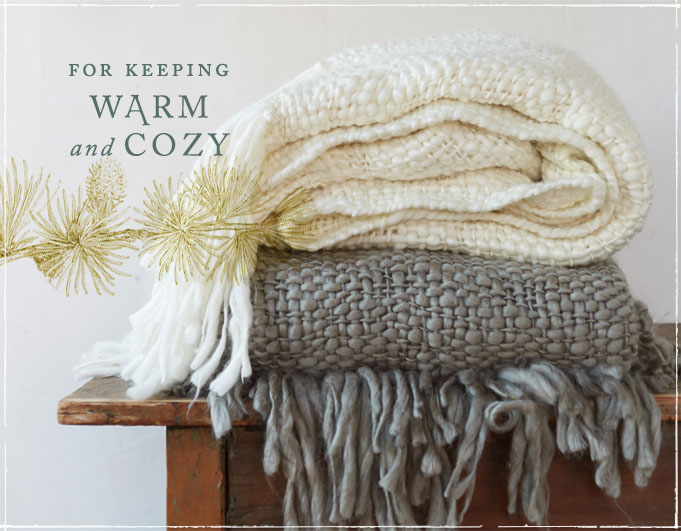 for keeping warm and cozy