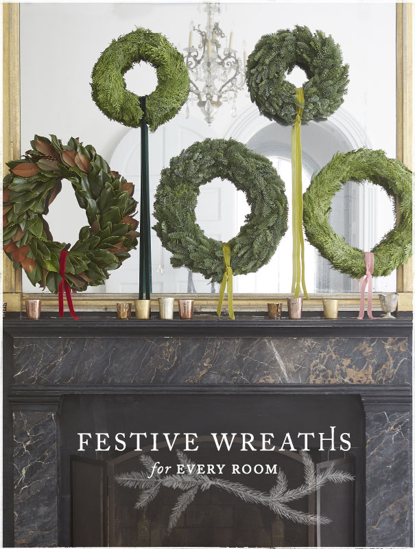 Fresh Green Wreaths