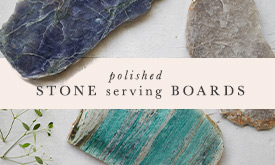 Polished Stone Serving Boards