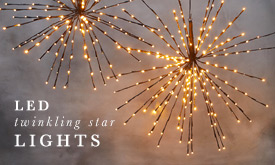 LED Twinkling Star Lights